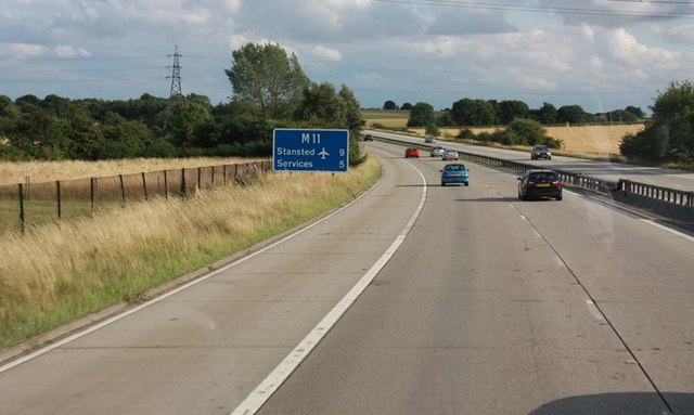 5 miles from M11 junction 8