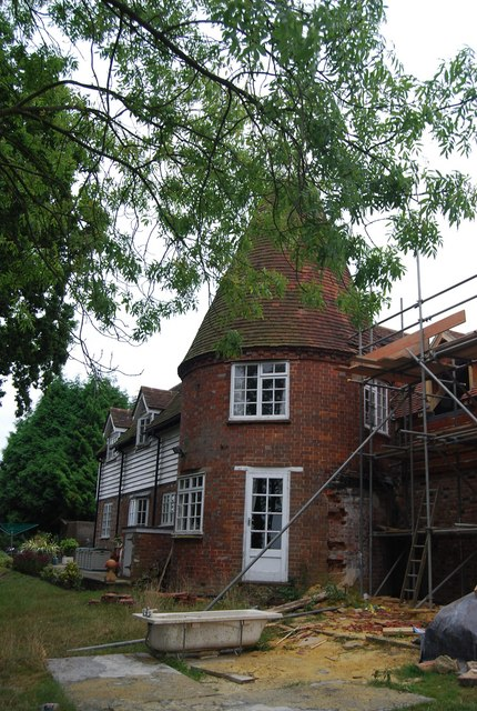 Renovating Knowles Bank Oast house