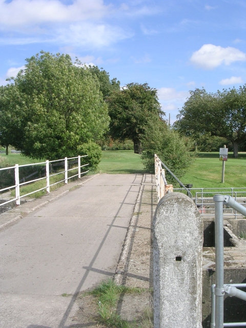 Footpath over Bridge leading to Golf Course