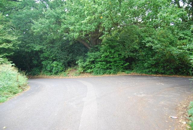 The junction of Half Moon Lane & Dislingbury Rd