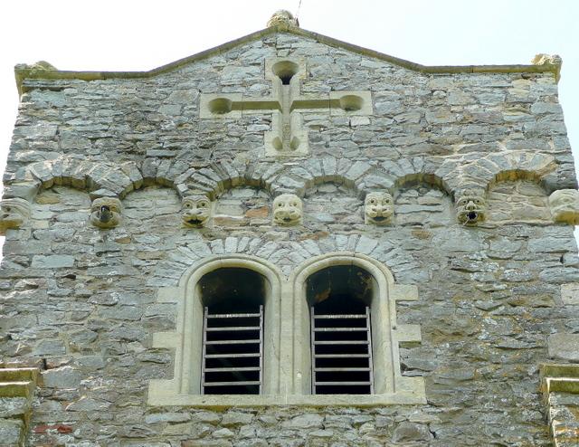 St. Thomas' church, Northwick - tower detail