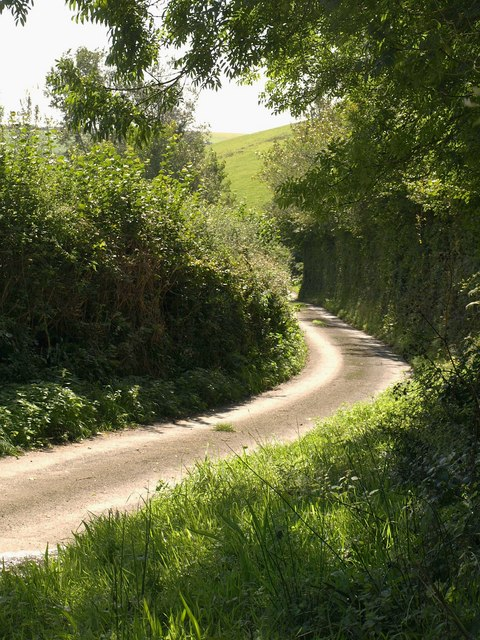Lane near Huccombe