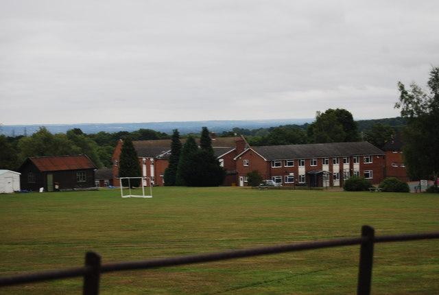 Kent College from the Tunbridge Wells Circular Path