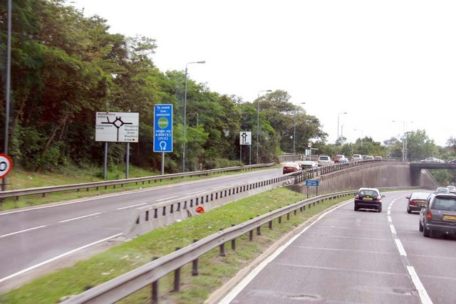 A406 / A104 junction