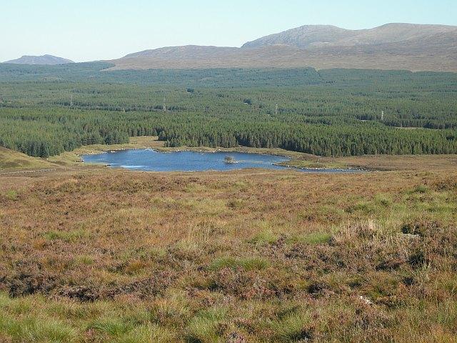 Moorland by Lochan Doire an Dollain