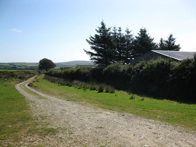 Two Moors Way near Landacre