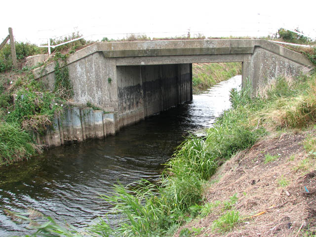 Bridge over Middle Leading Drain