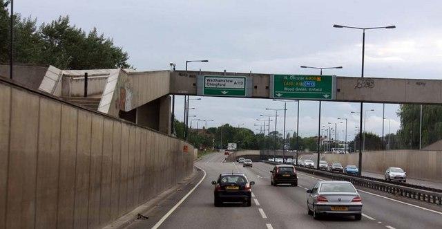The Crooked Billet junction