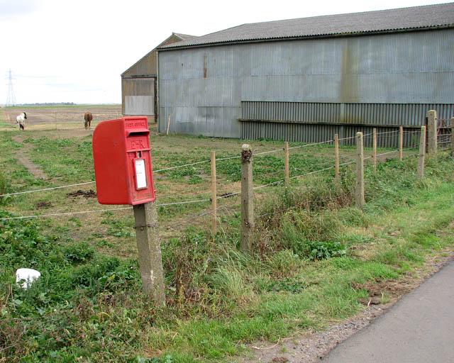 EII postbox by Smith's Farm