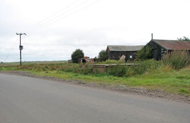 Sheds by Smith's Farm