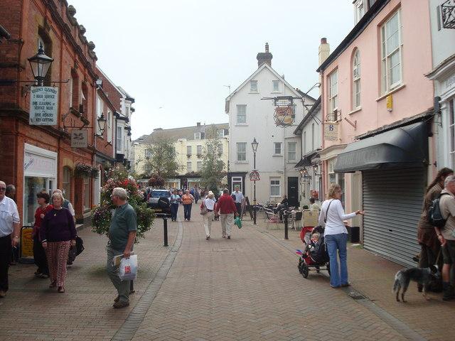 Cross Lane, Sidmouth