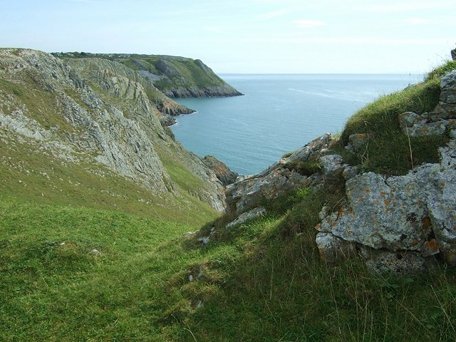 Coastal Scenery towards High Tor