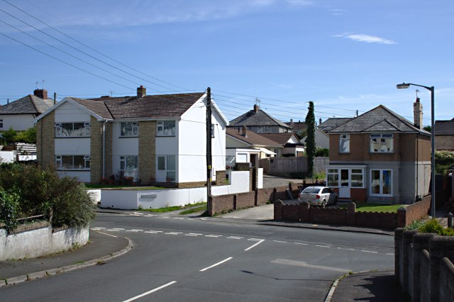 Suburban Housing on Valley Road