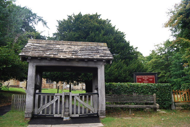 Lych Gate, St Peter's. Pembury