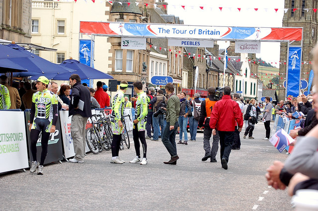 Tour of Britain, Peebles (2)