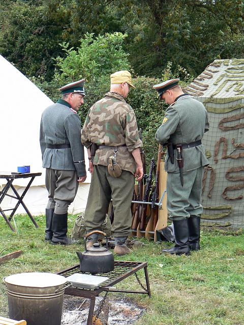 Wartime Weekend 2009 (5), Blunsdon Station