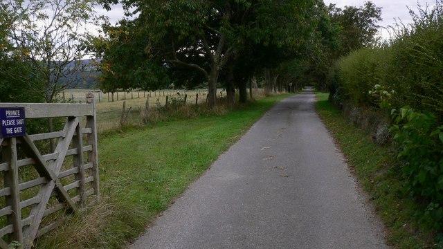 Driveway off Linch Road