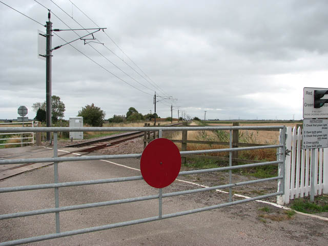 Level crossing on Cross Drove