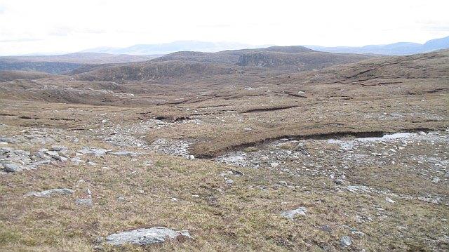 Stony moorland, Meall an Ceirileach