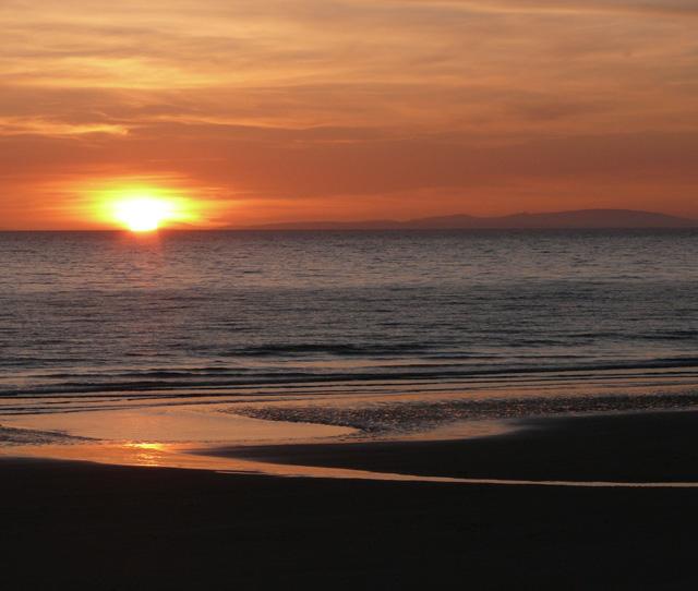 Sunset over Abersoch