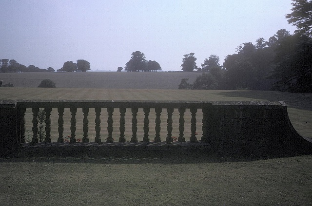 The lawn, Upton House