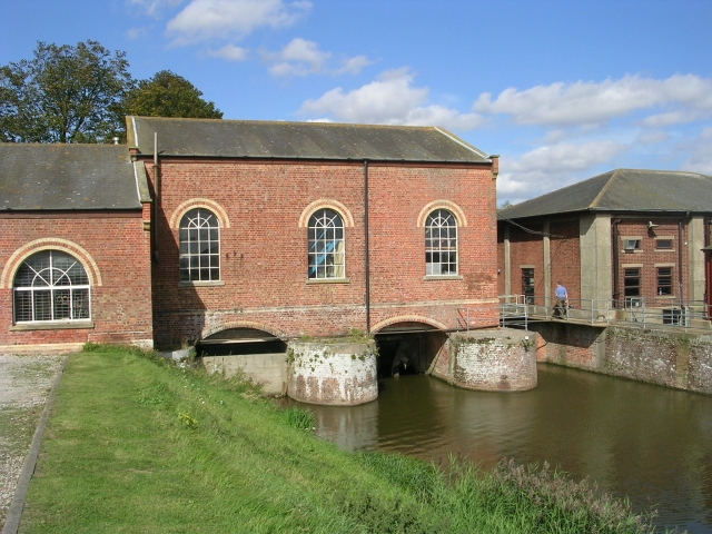 Back of Lade Bank Pumping Station
