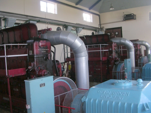 Inside Engine House - Hobhole Pumping Station