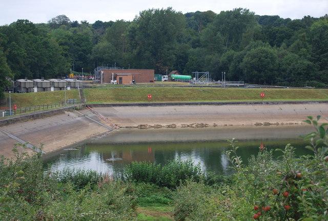 Pembury Reservoir & Waterworks