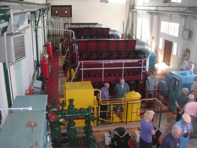 Inside Engine House - Hobhole Pumping Station