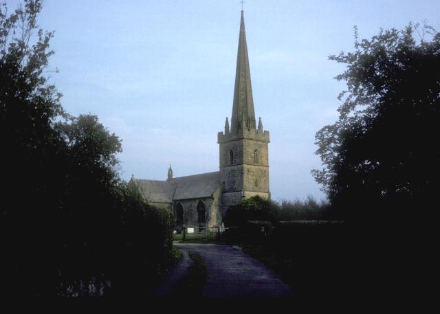 The church of St Mary the Virgin, Childswickham