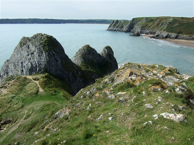 Why They Call It Three Cliffs Bay