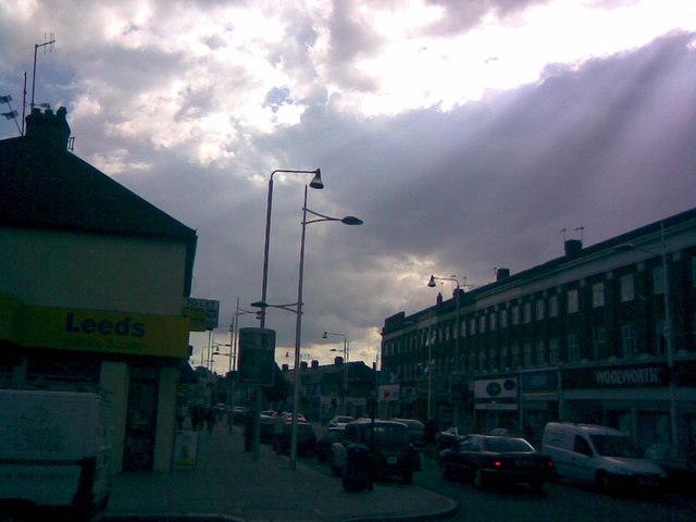 Streetlight replacement scheme on Barkingside High Street