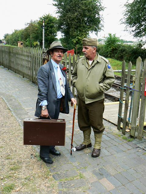 Wartime Weekend 2009 (11), Blunsdon Station