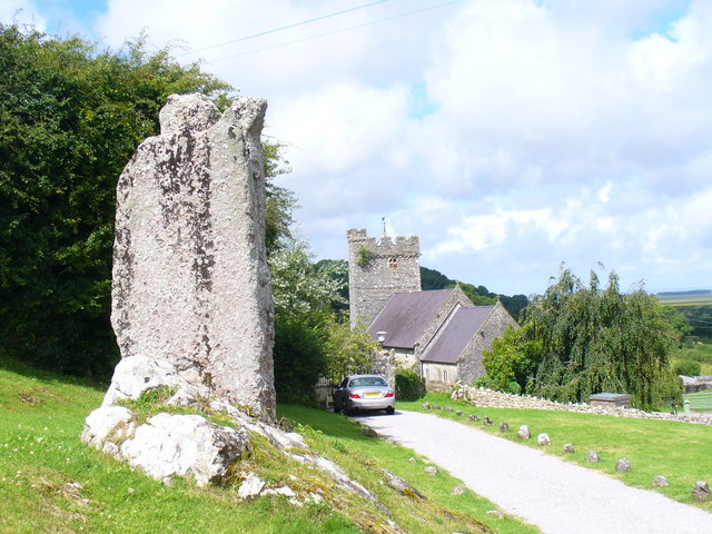 Standing Stone, Llanrhidian