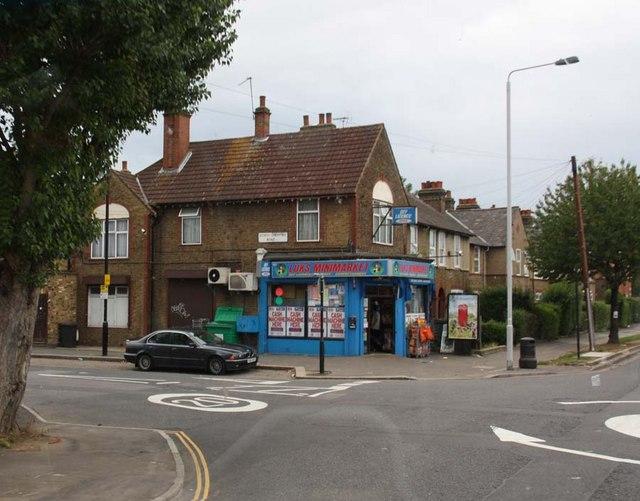 Billet Road / North Countess Road, London E17