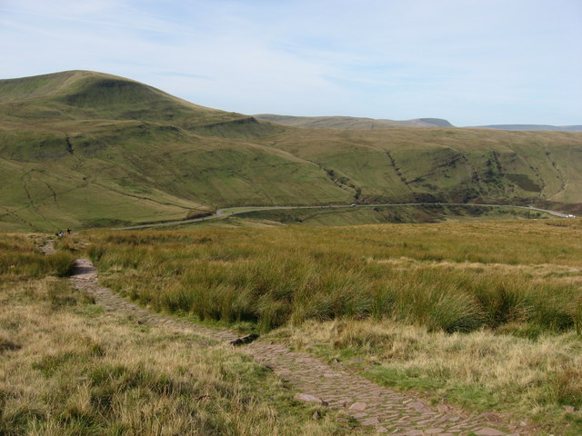 Fan Fawr and the A470(T)