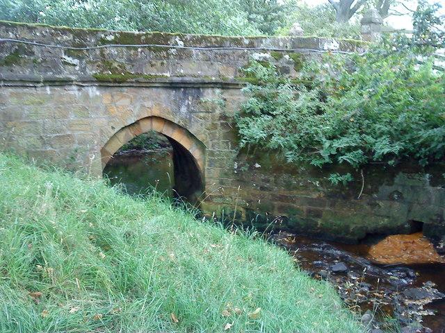 Baysdale Abbey Bridge over Black Beck