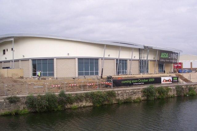 Construction of New ASDA store