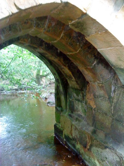Ribbed Arches under Baysdale Abbey Bridge