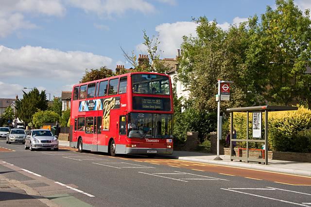 183 Bus on Pinner Road