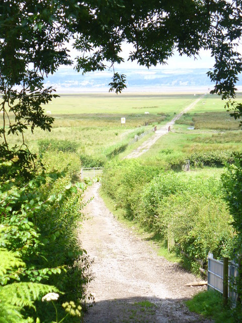 Causeway to Llanrhidian Marsh