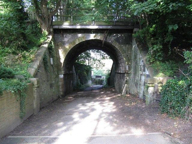 Old Waverley Line railway bridge