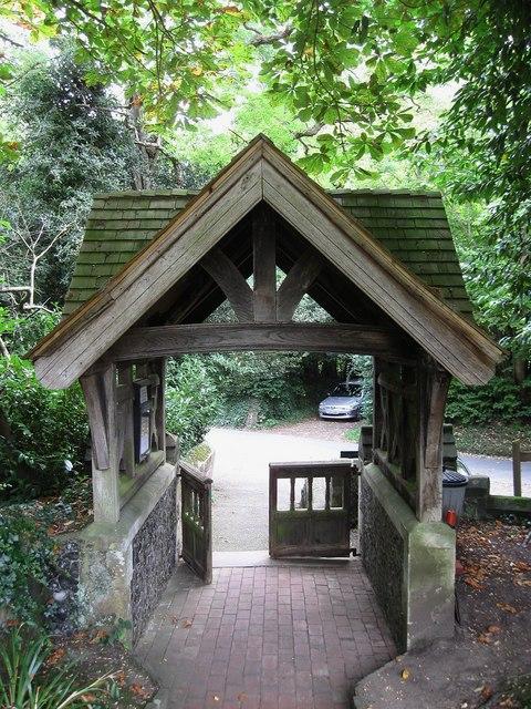 Lych Gate, Streat Church