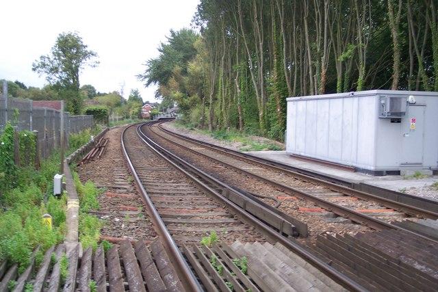 Railway towards Chilham Station