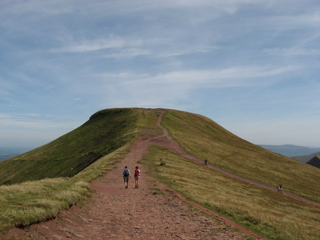 Towards Pen y Fan