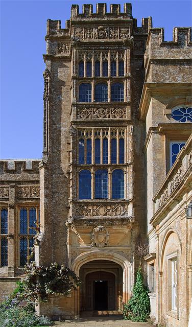 Forde Abbey [porch detail]