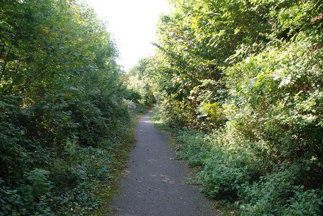 Hen ffordd Rhiw - Old Rhiw road