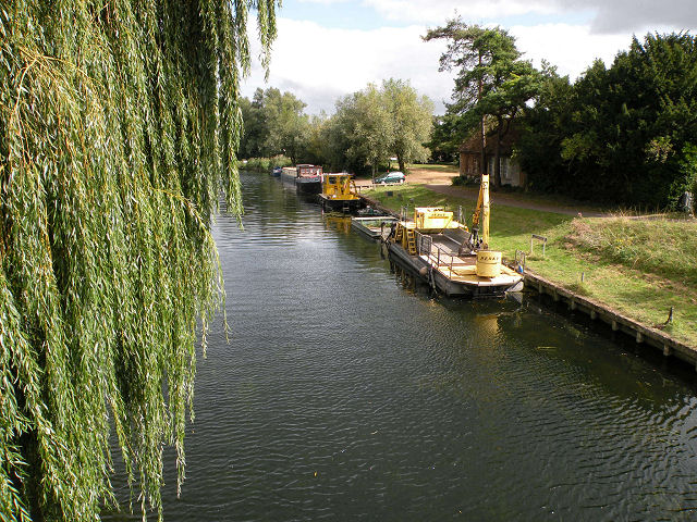 Dredgers on the Cam