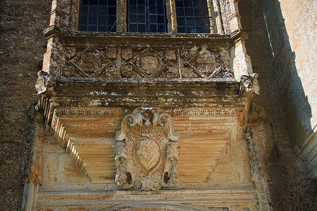 Forde Abbey [porch detail 2]