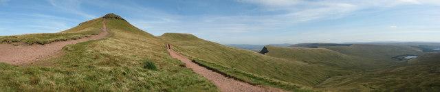 View from Bwlch Duwynt